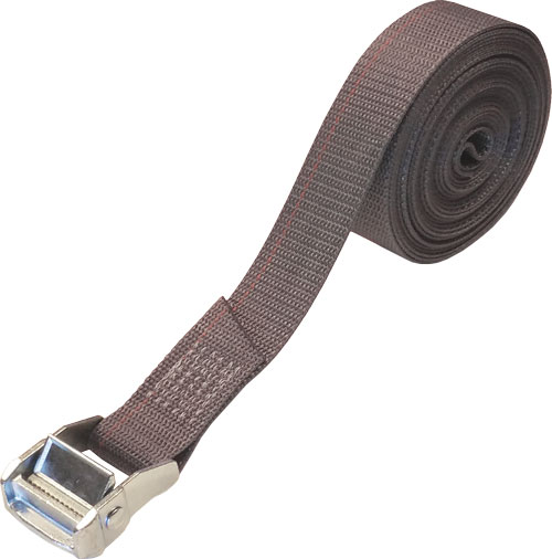 1.5 INCH CINCH STRAP 20 FT GRAY
