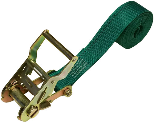 1.5 INCH CINCH-STRAP RATCHET 8 FT GREEN